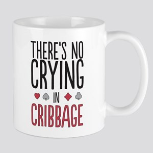 No Crying In Cribbage Mugs