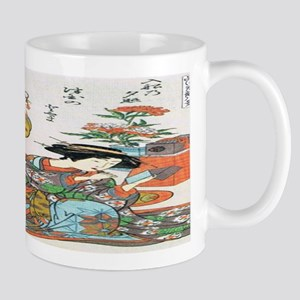 Classical Ancient Japanese Se Mug