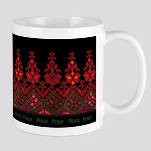 palestinian embroidery Mugs