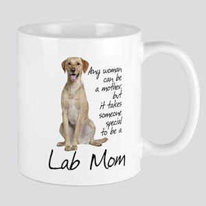 Yellow Lab Mom Mugs