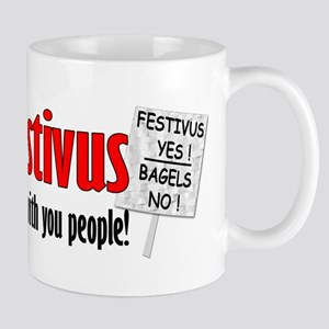 FESTIVUS™ Yes! Bagels No! Mug