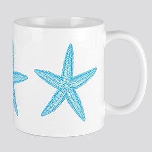 Aqua Blue Starfish Mug