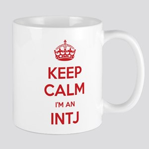 Keep Calm Im An INTJ Mugs