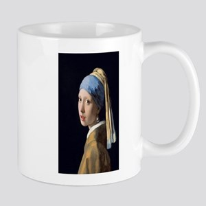 Johannes Vermeer's Girl with a Pearl Earring Mugs