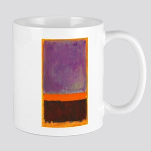 ROTHKO PURPLE ORANGE BROWN Mugs