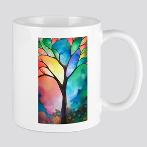 Tree of Light by Sally Trace Mug