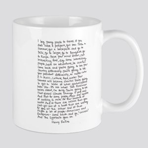 Henry Rollins quote Mug