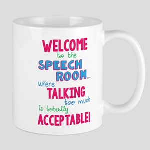 Welcome To Speech Mug Mugs
