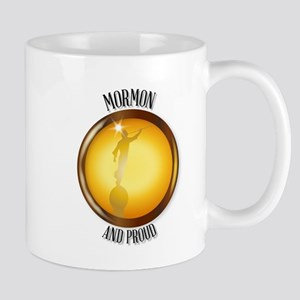 Mormon And Proud Button Mugs