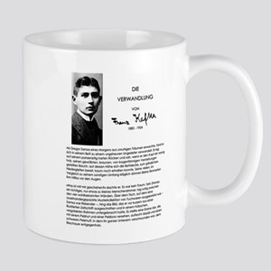 The Metamorphosis: Franz Kafka Mugs