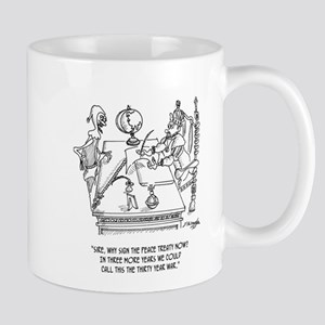 War Cartoon 1398 11 oz Ceramic Mug