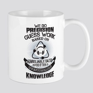 Precision Guess Work Based On Unreliable Data Mugs