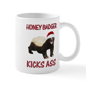 b2d180e19dd Honey Badger Mugs - CafePress