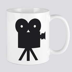 black cine camera hollywood Mug