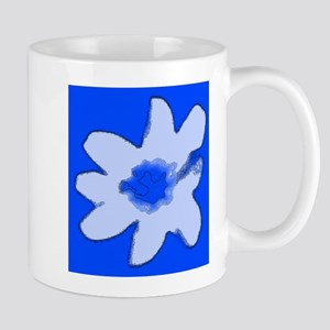 Blue Floral Abstract 47 Designer Mugs