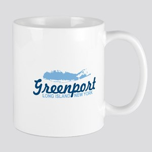 Greenport - Long Island. Mug Mugs