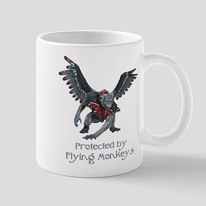 b47bcac5e Protected By Flying Monkeys Mugs