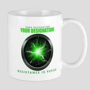 Personalized Star Trek Borg Alcove Mug