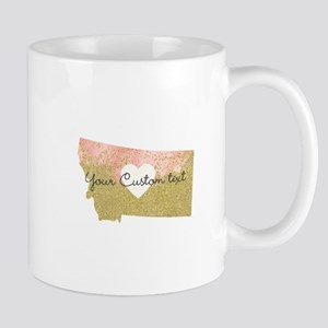 Personalized Montana State Mugs
