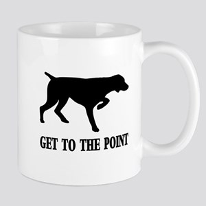 GET TO THE POINT CENTERED 11 oz Ceramic Mug