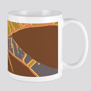 Abstract House Plant Design Mugs