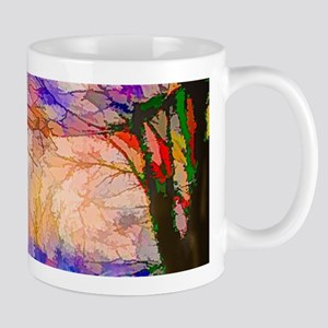 Nature In Stained Glass Mugs
