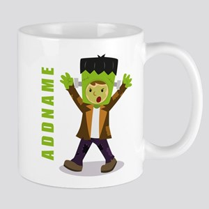 Halloween Green Goblin Personalized Mug