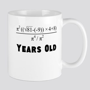 Algebra Equation 80th Birthday Mugs