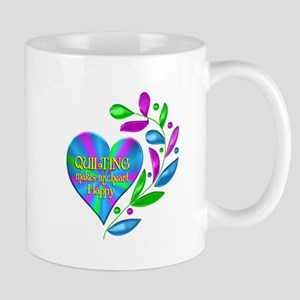 Quilting Happy Heart Mug