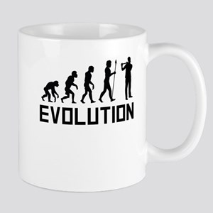 Flautist Evolution Mugs