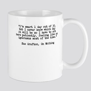 Sue Grafton - On Writing 11 oz Ceramic Mug