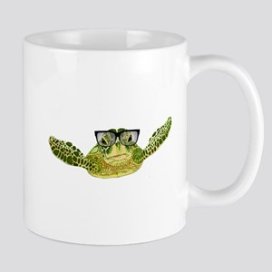 Turtle nerd power Mug