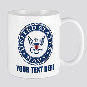 Personalized United States Navy Mug