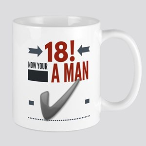18th Birthday Man Mug