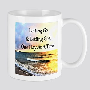 LET GO LET GOD Mug