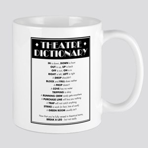Theatre Dictionary 11 oz Ceramic Mug