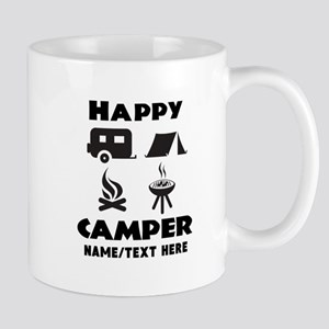 Happy Camper Personalized 11 oz Ceramic Mug