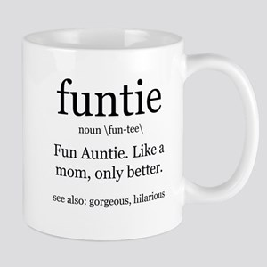 6fffa921 Aunt Like A Mom Mugs - CafePress