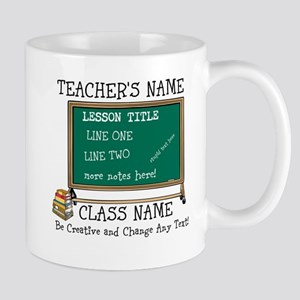 Teacher School Class Personalized Mugs