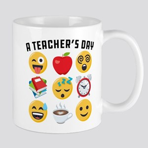 Emoji A Teacher's Day 11 oz Ceramic Mug
