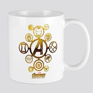 Avengers Infinity War Icons 11 oz Ceramic Mug