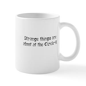 Strange things    Mug