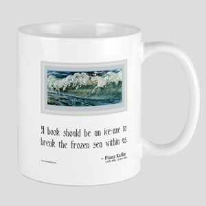 Kafka on Books Mug