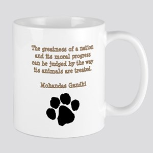 Gandhi Animal Quote Mug