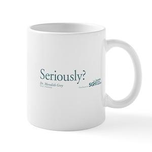 be7b7d163c8 Seriously? - Grey's Anatomy Mug