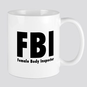 3f249fe8 Female Body Inspector Mugs - CafePress