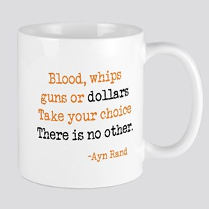 Guns or Dollars Mug