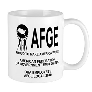 OHA Coffee Cup 3 For AFGE Local 3610