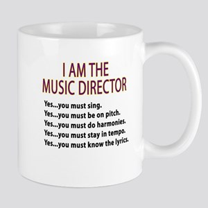 Music Director Stainless Steel Travel Mugs