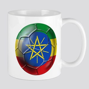 Ethiopia Football 11 oz Ceramic Mug